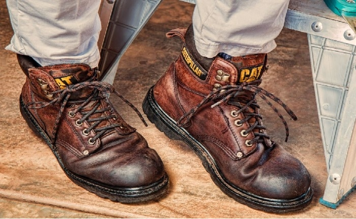 How to break in new work boots
