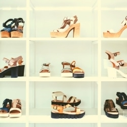 Using A Shoe Organizer to prevent sole separation